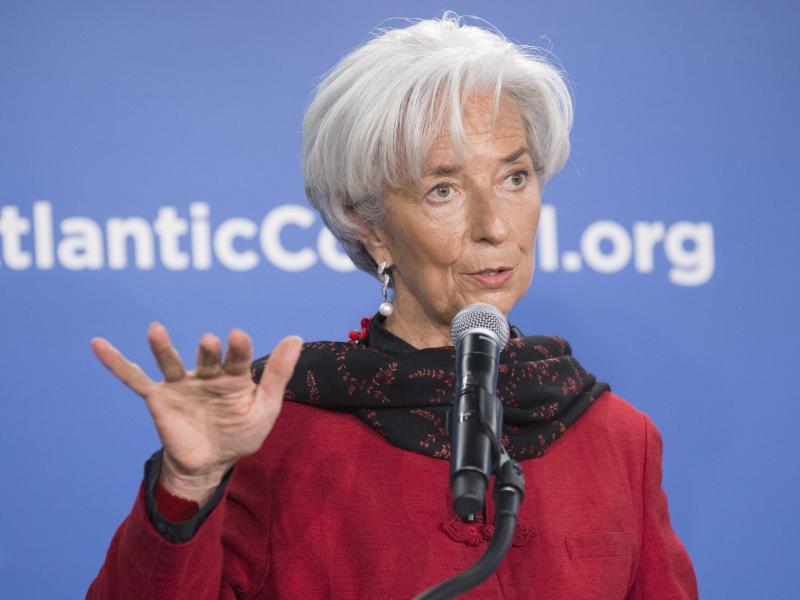 IWF-Chefin Lagarde warnt vor Finanzkrise