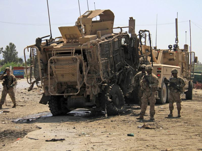 Tote bei Selbstmordanschlag auf Nato-Konvoi in Afghanistan