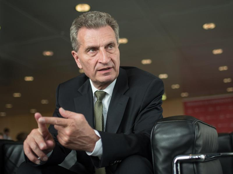 Oettinger:Es gab «sehr kompetente Beschwerden»