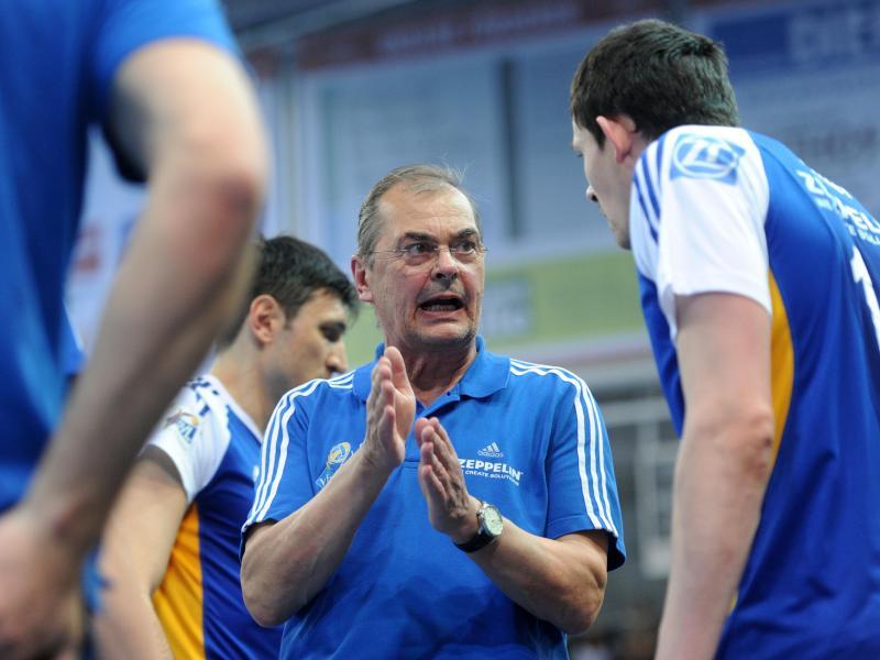 Moculescu will Berlin vom Volleyball-Thron stürzen
