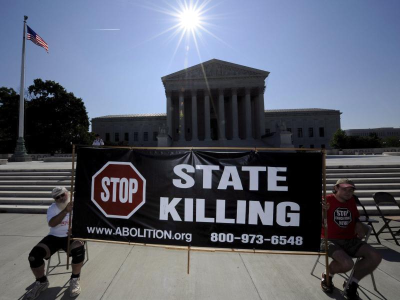 Oklahoma erlaubt Hinrichtungen durch Stickstoff