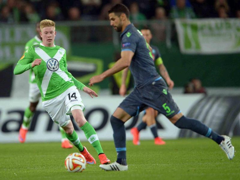 Wolfsburg ohne De Bruyne und Schürrle nach Neapel