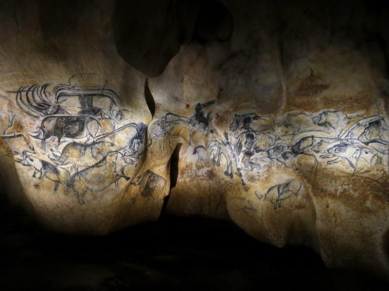 Steinzeit-Kunst: Replik der Chauvet-Höhle wird eröffnet