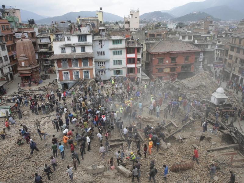 Nepal Erdbeben: «Eine nationale Tragödie»