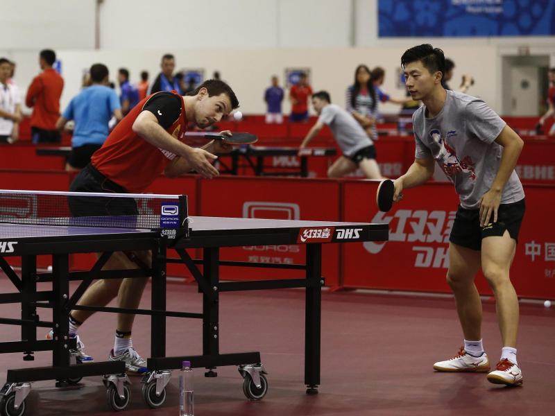 Fast genialer Coup: Boll spielt mit Chinas Bestem Doppel