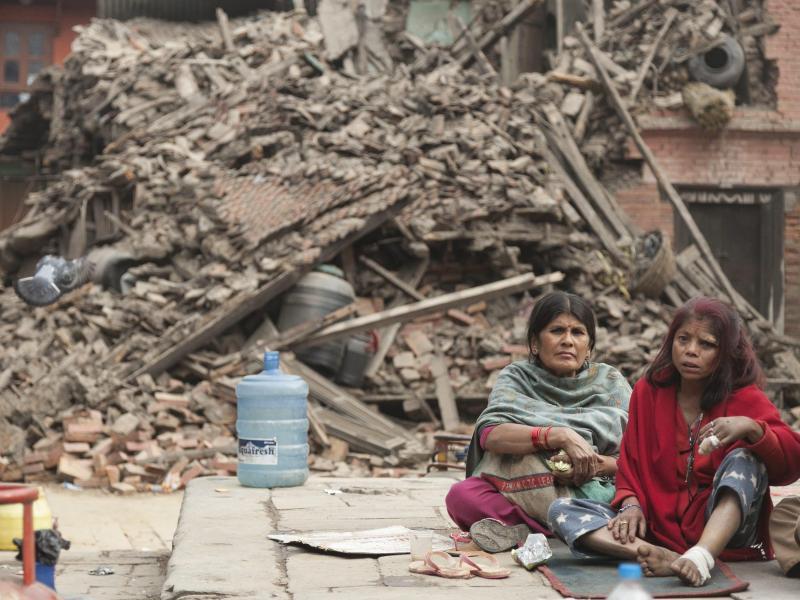 Beben erschüttert Nepal: «Eine nationale Tragödie»