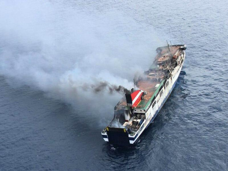 Brand auf Mallorca-Fähre unter Kontrolle