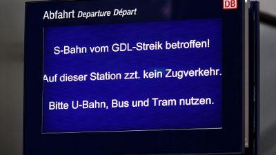 Lokführer-Streik: Gewerkschaft GDL legt viele Züge lahm – Alternativen zum Zug sind Fernbusse – HOTLINE, Erstattung & Ersatzfahrpläne online und als App