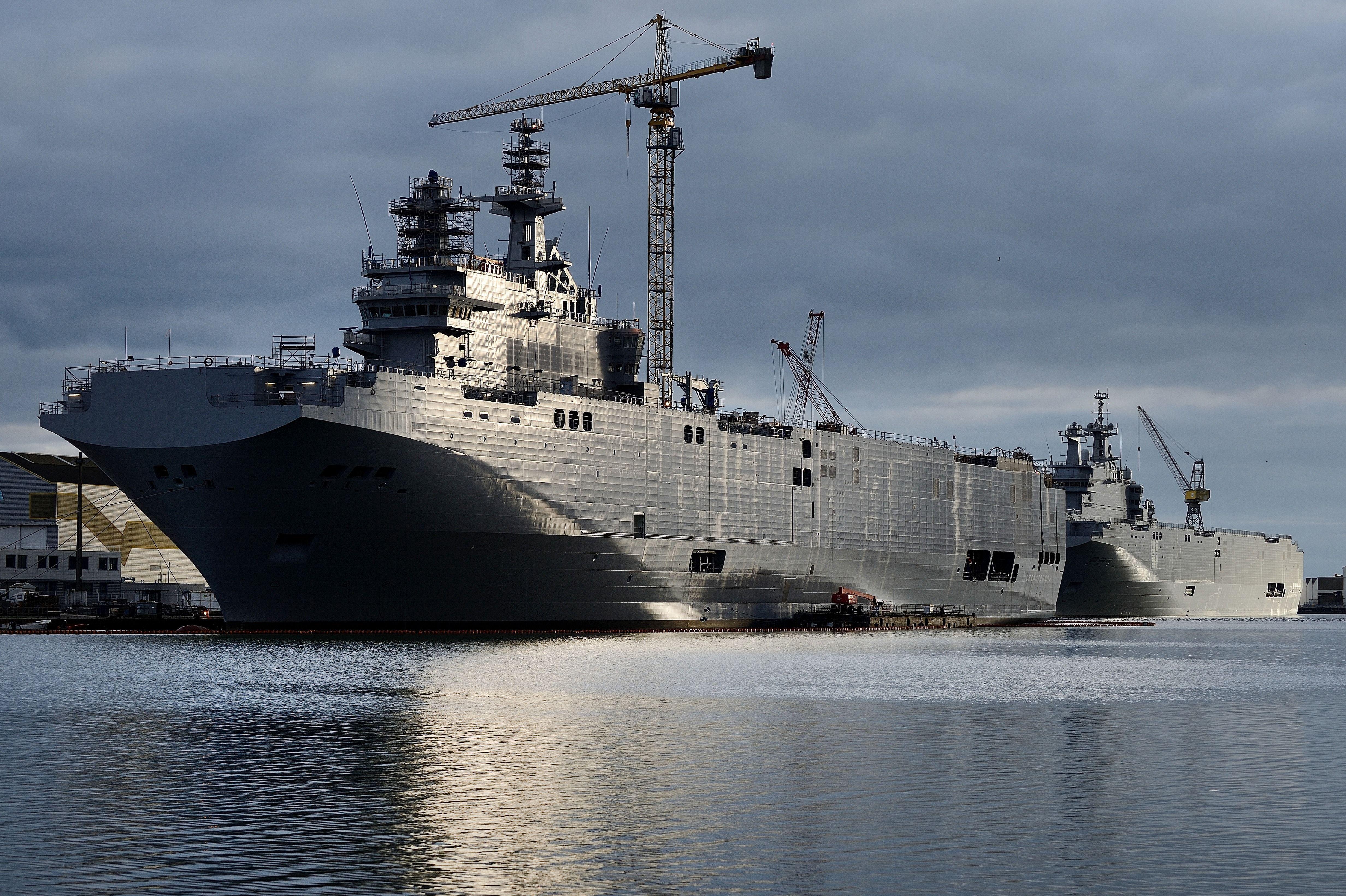 """Geplatzter Deal: Versenkt Frankreich die """"Mistral""""-Kriegsschiffe?"""