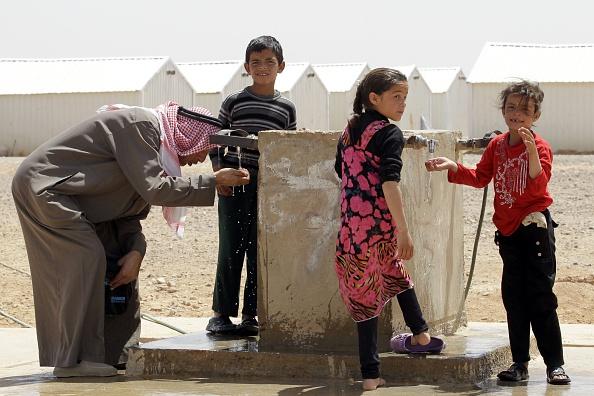 Menschenhandel in jordanischen Flüchtlingscamps: Viele syrische Familien verkaufen ihre Kinder aus Not als Sexklaven an reiche Araber. Foto: KHALIL MAZRAAWI / AFP / Getty Images