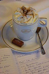 Wien: Kaffeespezialität im Café Landtmann