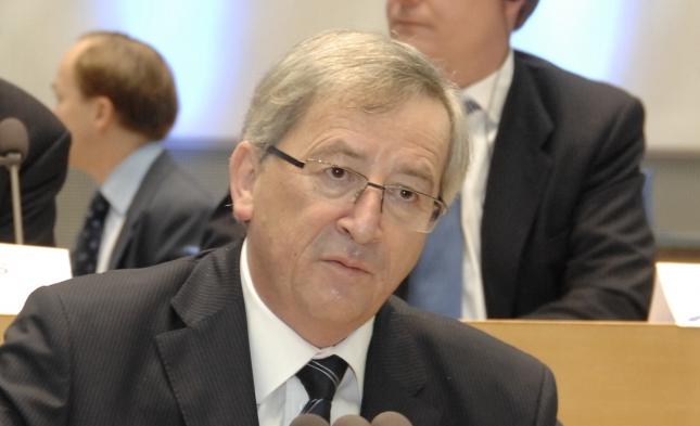 Juncker warnt eindringlich vor Euro-Aus für Athen