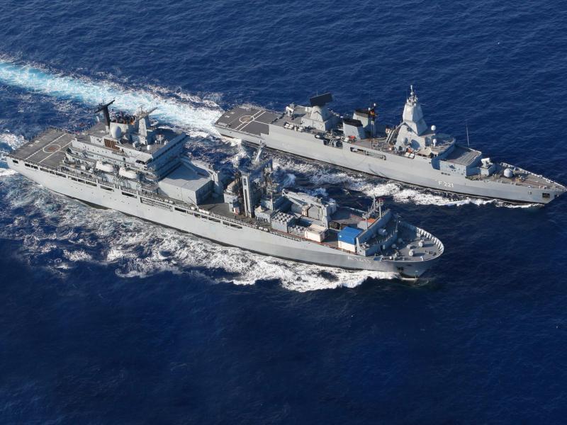 Bundeswehr-Fregatte zur Überwachung von EU-Waffenembargo gegen Libyen entsendet