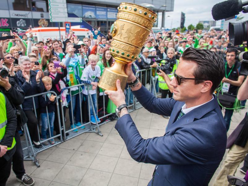 Pokal-«King» Hecking: «Fühlt sich bekloppt an»