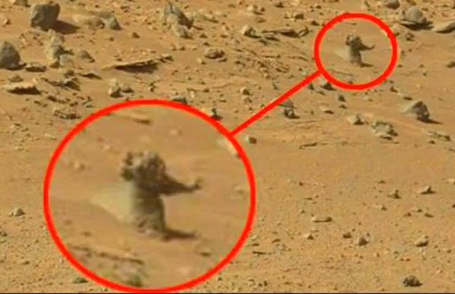 Pyramiden Auf Dem Mars