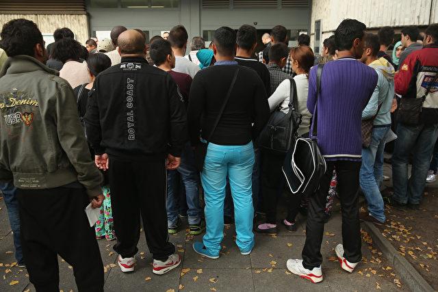 Unter Sachsen Asylbewerbern sind der Polizei 499 als Mehrfachstraftäter bekannt. Foto: Sean Gallup / Getty Images