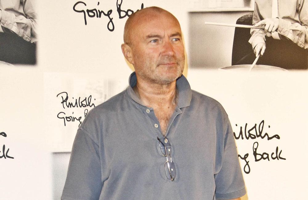 Phil Collins verletzt sich bei Sturz im Hotelzimmer am Kopf