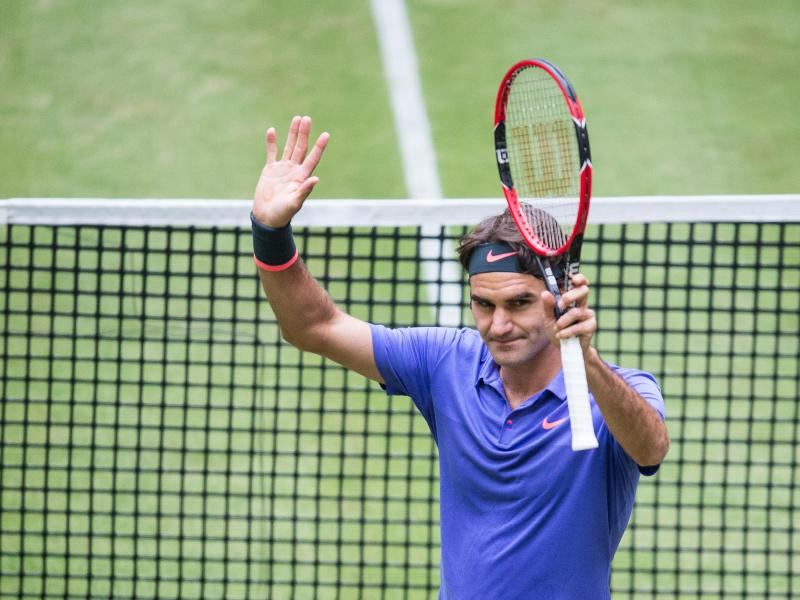 Federer vor Rekord-Titel – Kerber will Sieg auf Gras