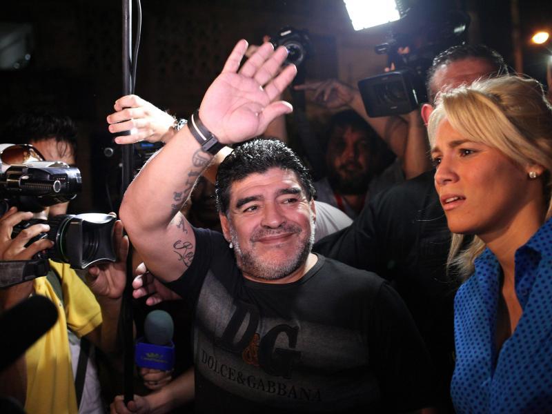 Leibarzt weist Verantwortung für Pflege von Maradona vor dessen Tod zurück