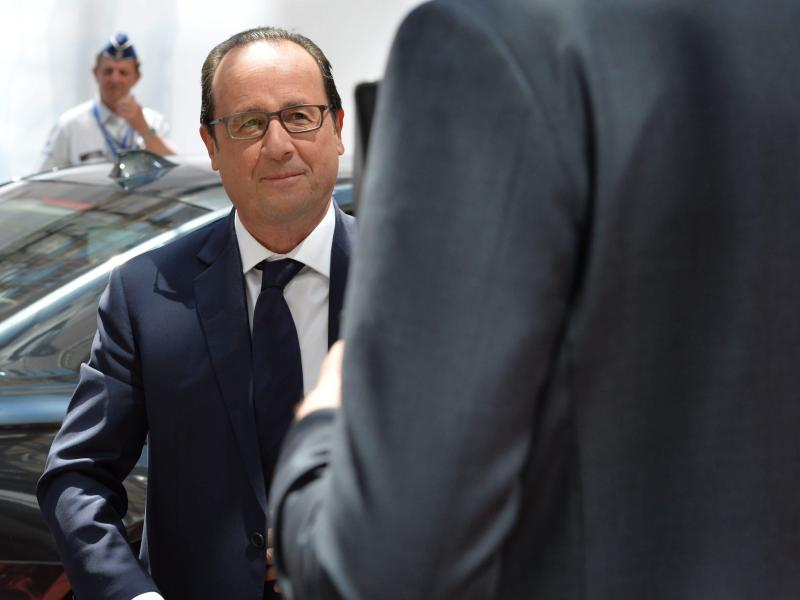 Wikileaks: NSA spähte Frankreichs Präsidenten aus