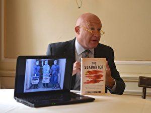 Enthüllungsjournalist Ethan Gutmann recherchierte 7 Jahre lang im Alleingang über Chinas blutiges Transplantations-Business und die Verfolung von Falun Gong.