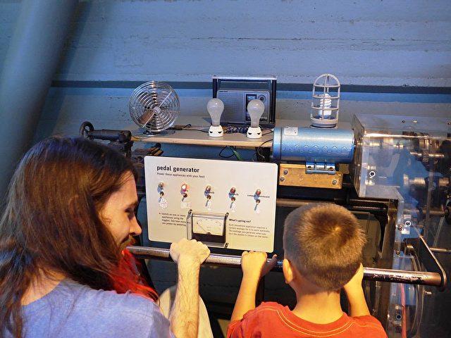 Pedal-Stromgenerator