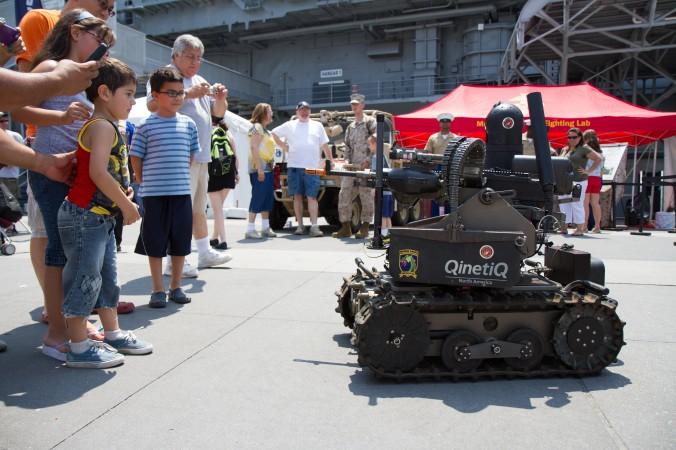 Zähes Ringen im Umgang mit Killerrobotern in Genf