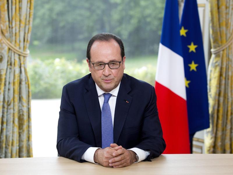 Hollande: Neue Terrorakte in Frankreich vereitelt