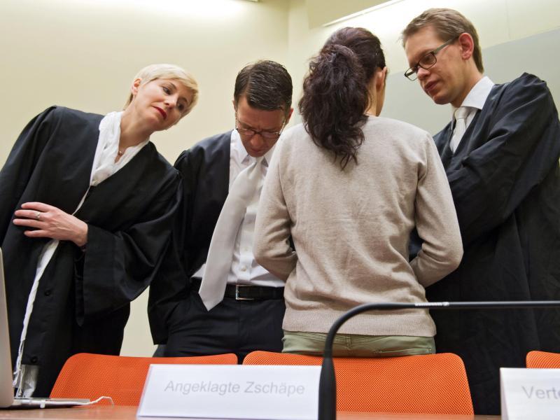NSU-Prozess: Streit mit Zschäpe und ihren Verteidigern geht weiter