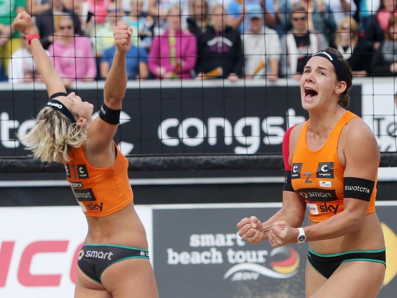 Beach: Ludwig/Walkenhorst stürmen ins EM-Halbfinale