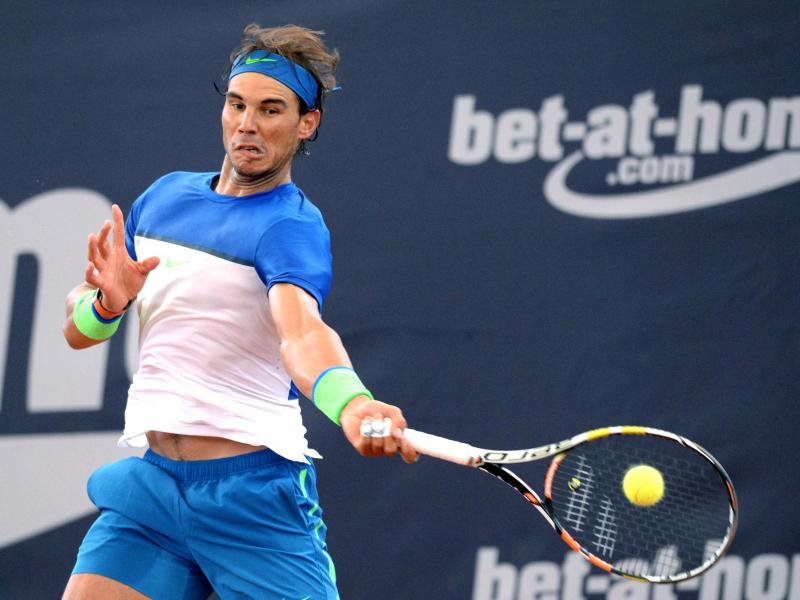 Nadal zieht ins Halbfinale von Hamburg ein