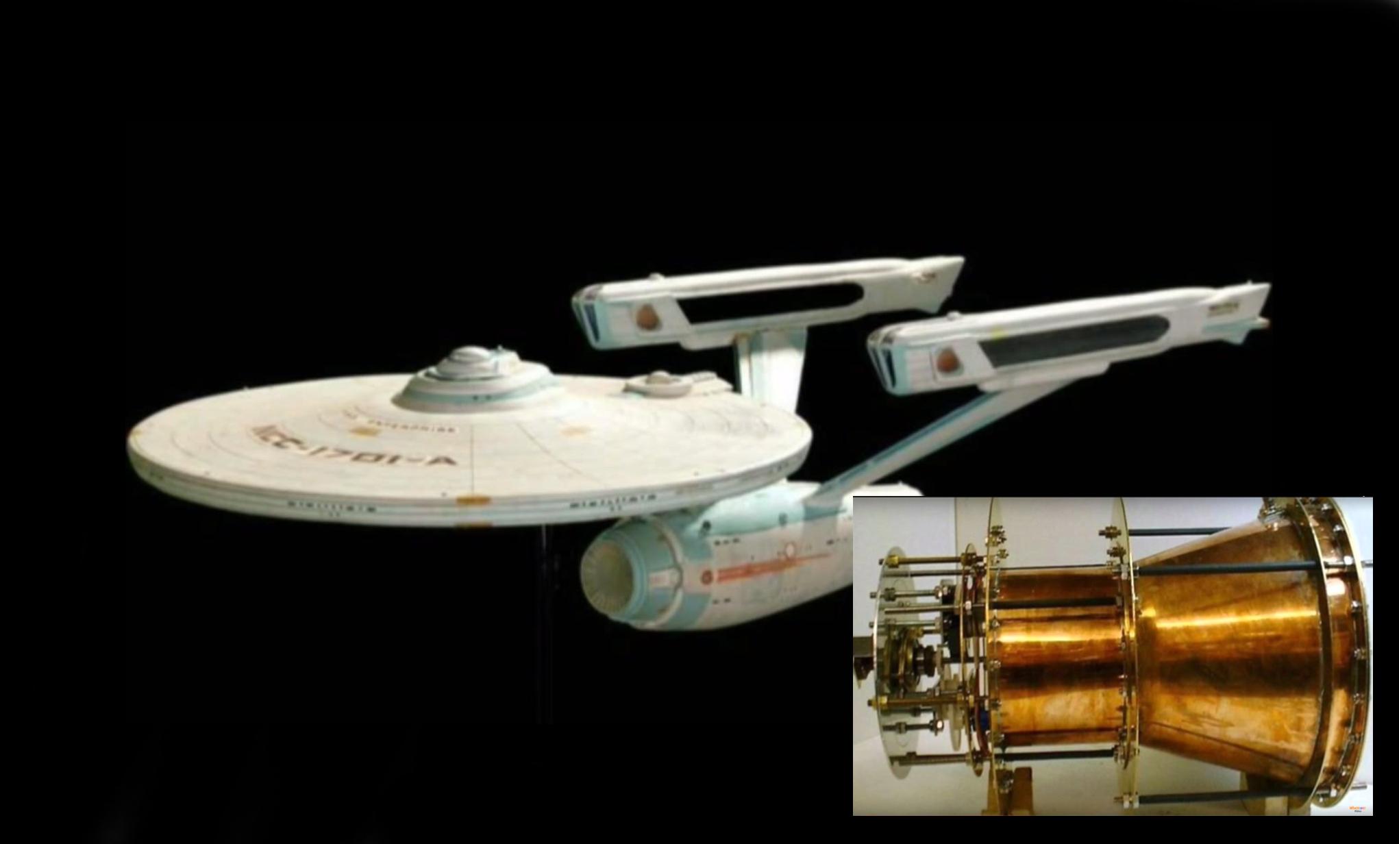Astrophysiker: Warp Antrieb von Star Trek bald Realität
