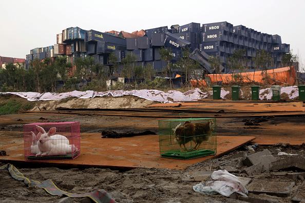 Nach Tianjin-Explosion: Gift-Wolke verbreitet sich hunderte Kilometer weit