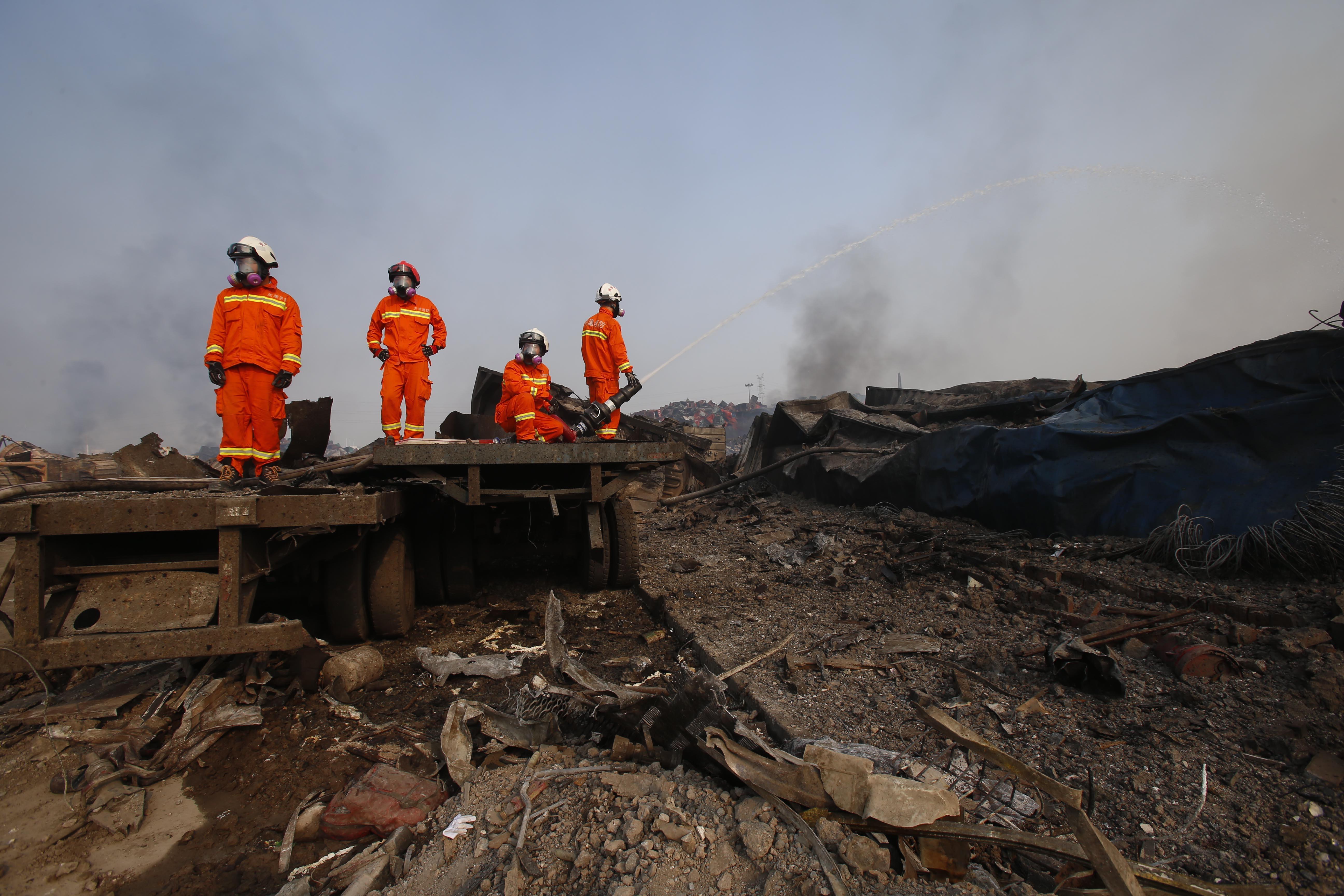 Offiziell: Tianjin-Explosion mit 700 Tonnen hochtoxischem Natriumcyanid + weiteren Sprengstoffen