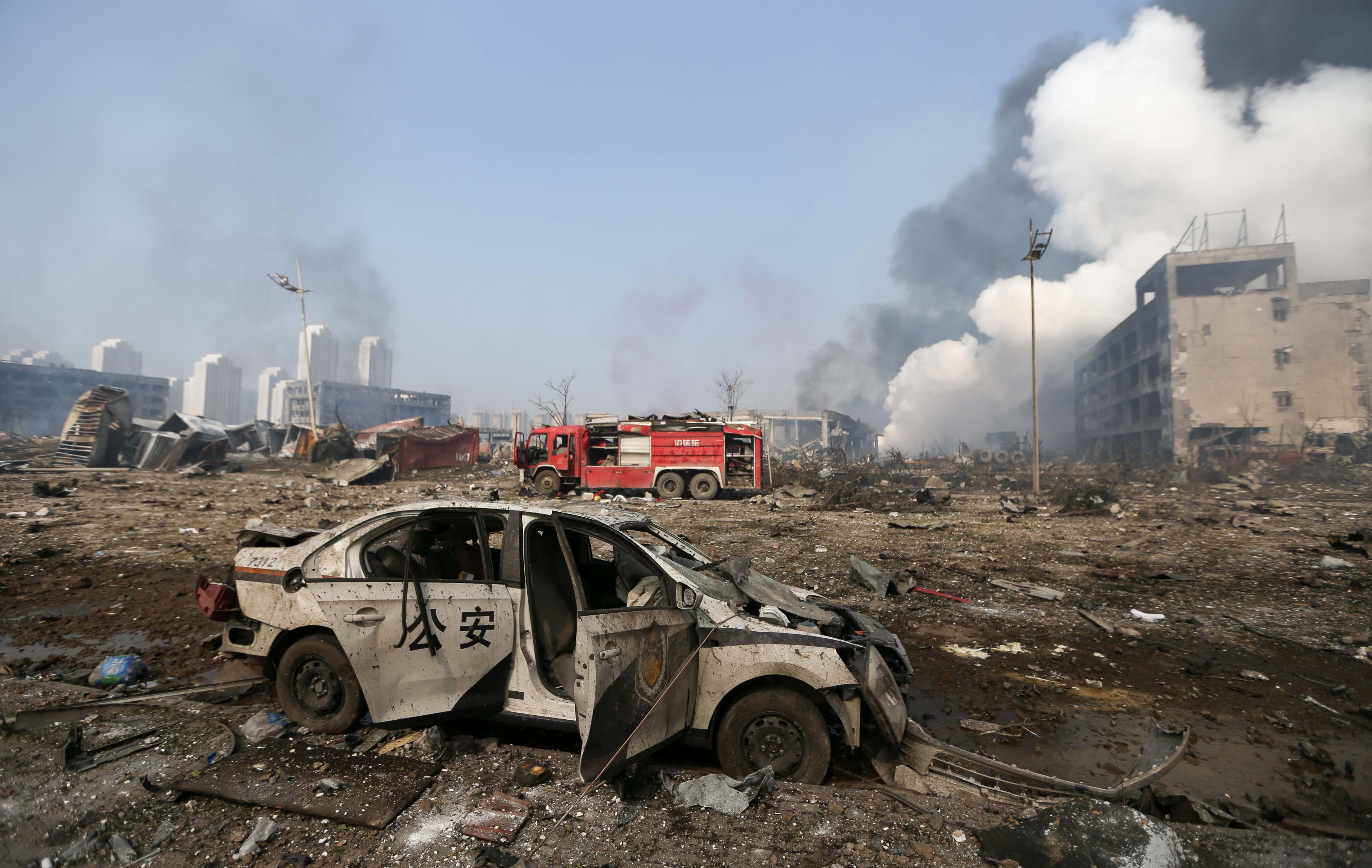 Tödliche Klüngel: So sind Chinas Führer in die Tianjin-Explosion verstrickt