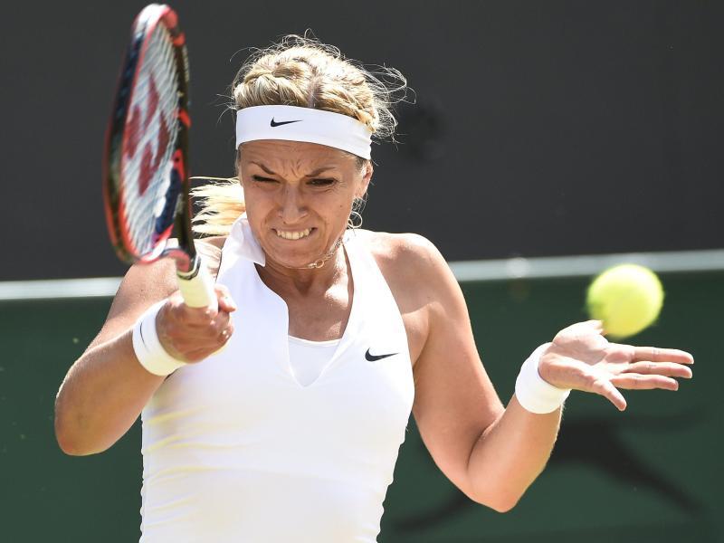 Turnier in Toronto:Lisicki besiegt Venus Williams