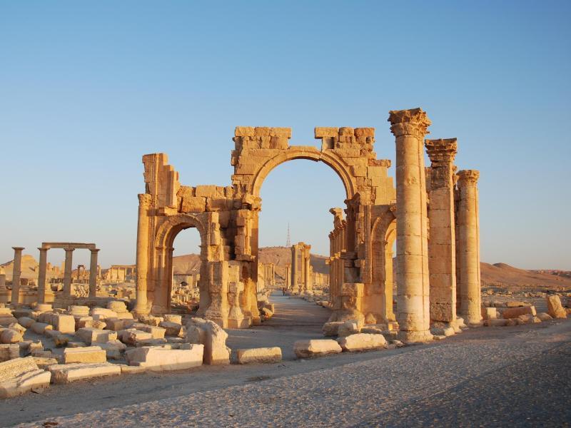 IS enthauptet in Syrien früheren Chef-Archäologen von Palmyra