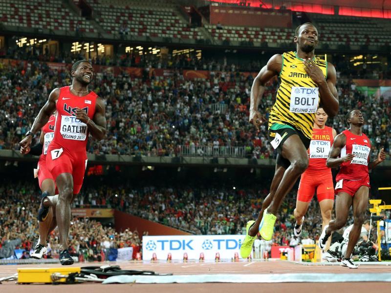 Revanche: Bolt will Gatlin auch über 200 Meter schlagen