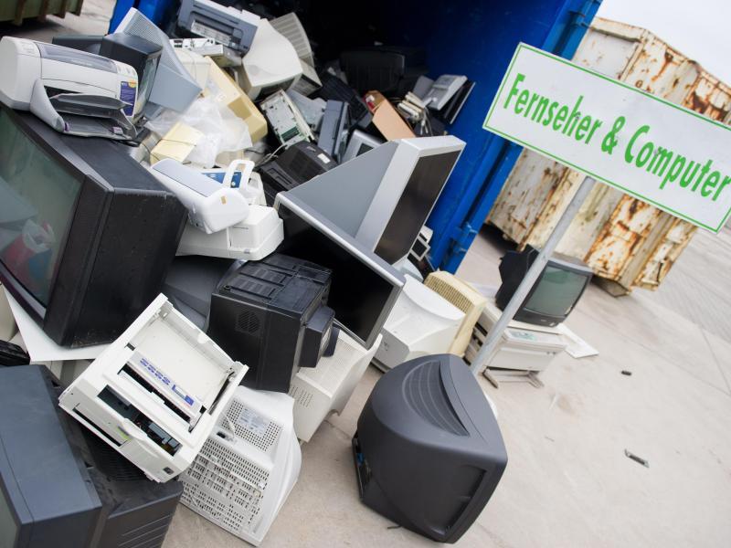 Discounter und Supermärkte müssen künftig Elektroschrott annehmen