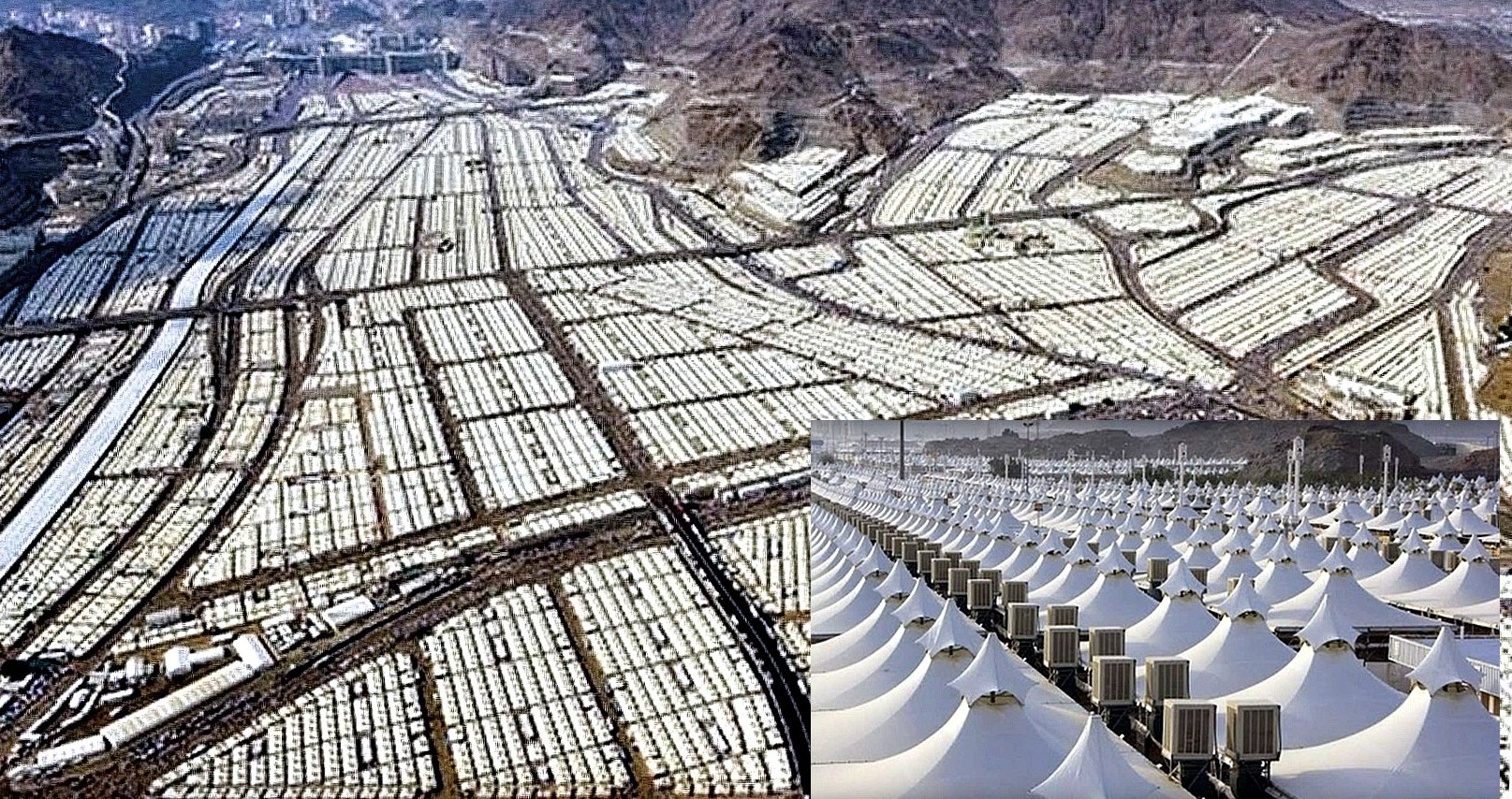Saudi-Arabiens Zeltstadt könnte 3 Mio. Flüchtlinge aufnehmen