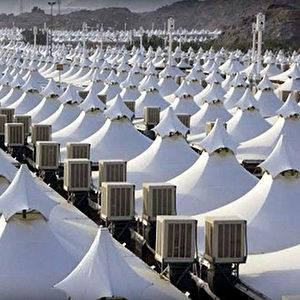 Seit 1997 sind die Zelte sogar feuerfest. Foto: YouTube Screenshot