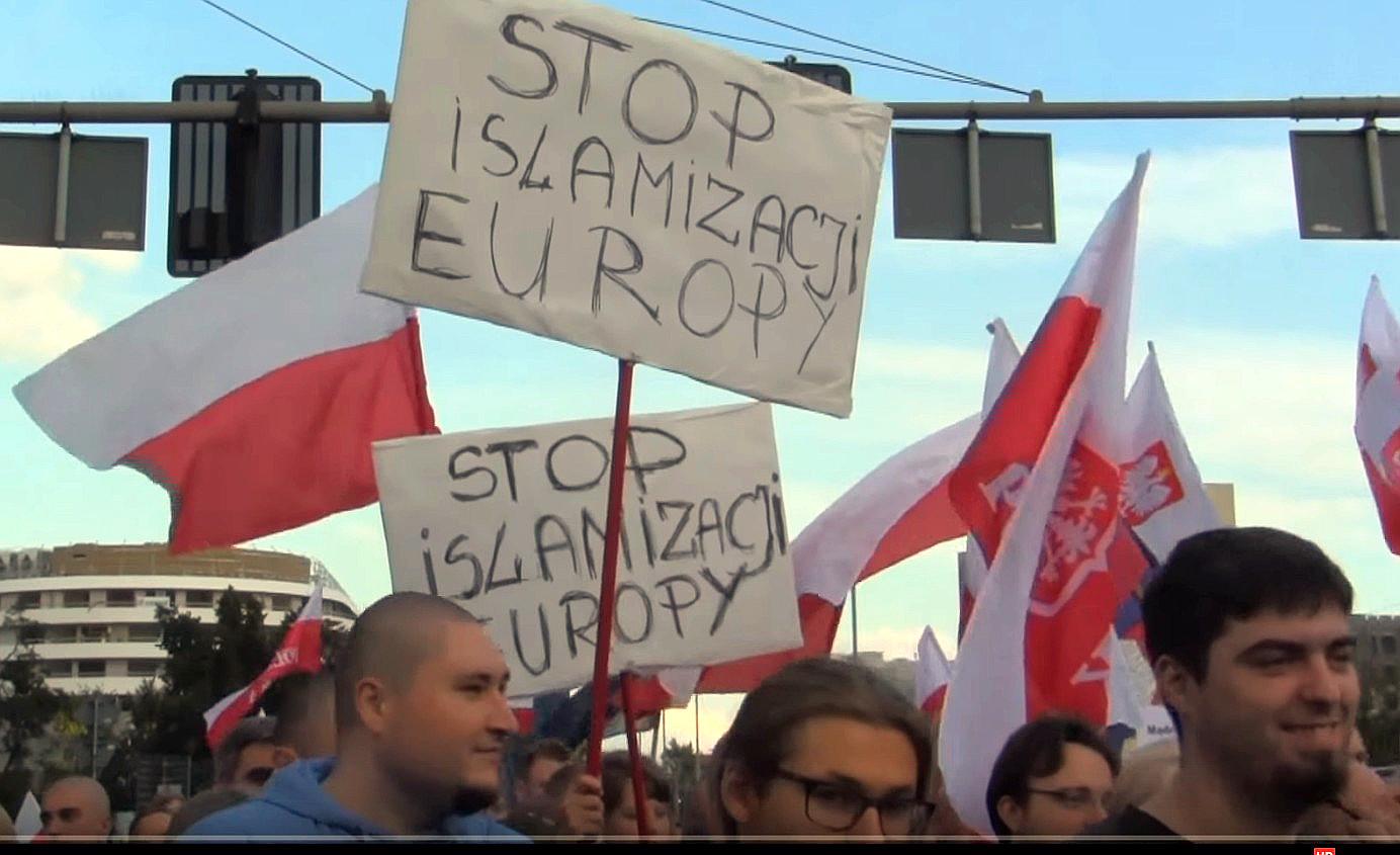 Gegen Islamisierung durch Migranten: 9.000 polnische Demonstranten in Wroclaw