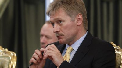"""Kreml Sprecher: """"Russlandnähe"""" der NATO in der Ukraine hat Konsequenzen"""