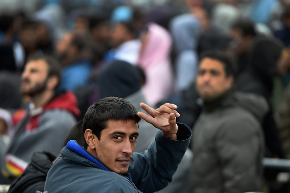 Migranten in Ungarn  Foto: Jeff J Mitchell/Getty Images