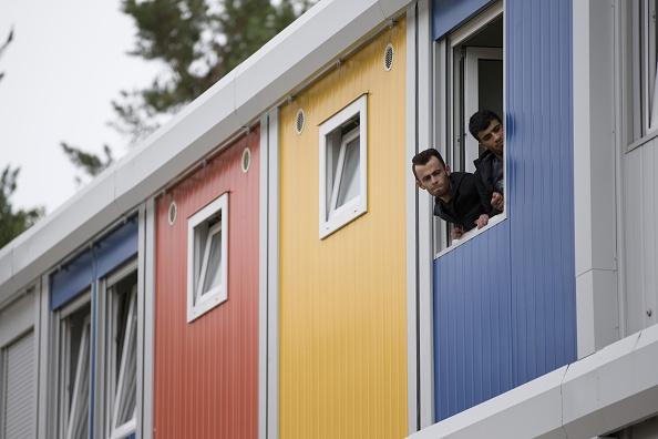 Wohncontainer in Berlin-Köpenick, ob die türkischen Modelle ähnlich aussehen werden, bleibt offen