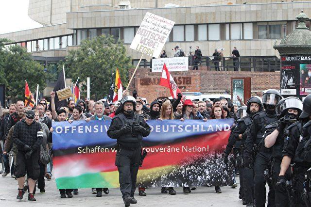 """Bürgermeister von Hainichen: """"Angst, dass eine markante Zahl an Bürgern bald gegen uns marschiert."""" Foto: Getty Images"""