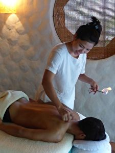 Massage im Six Senses Ninh Van Bay