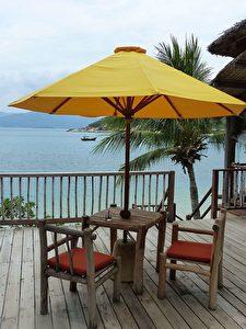 Meerblick über die Ninh Van Bay