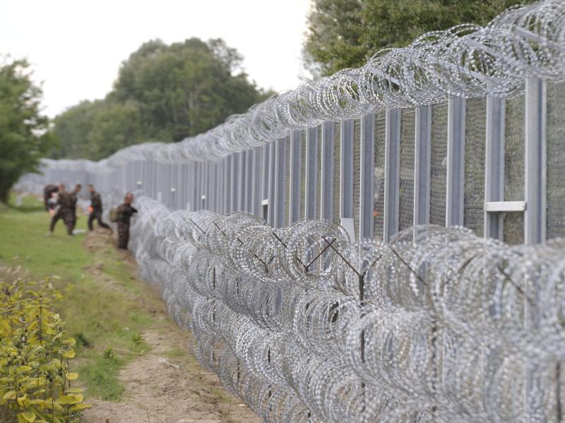 Ungarn beschleunigt Bau von Grenzzaun zu Serbien