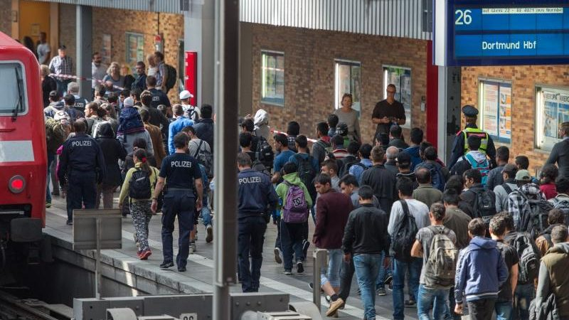 Flüchtlinge Hauptbahnhof München